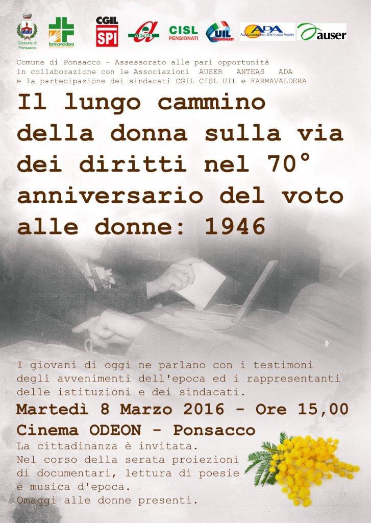 Festa Della Donna 2016