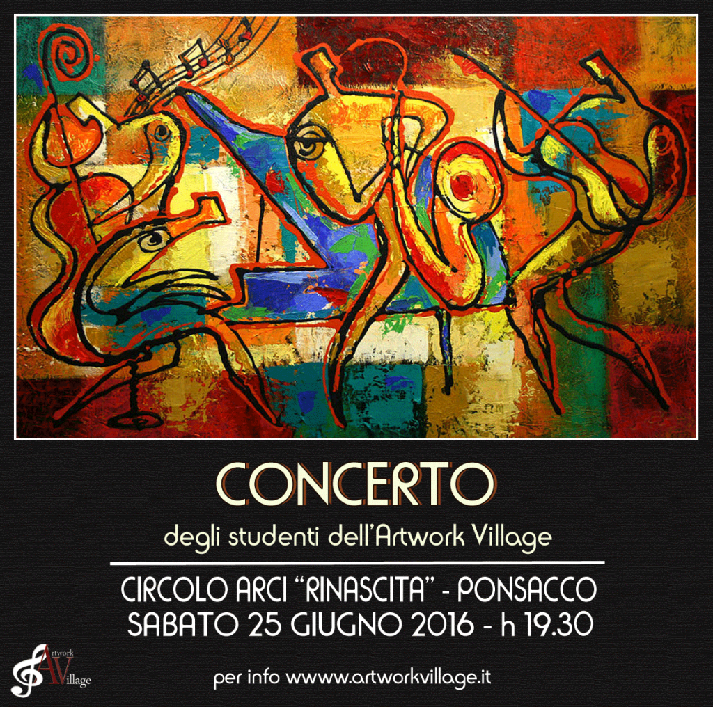 Concerto degli Studenti dell'Artwork Village