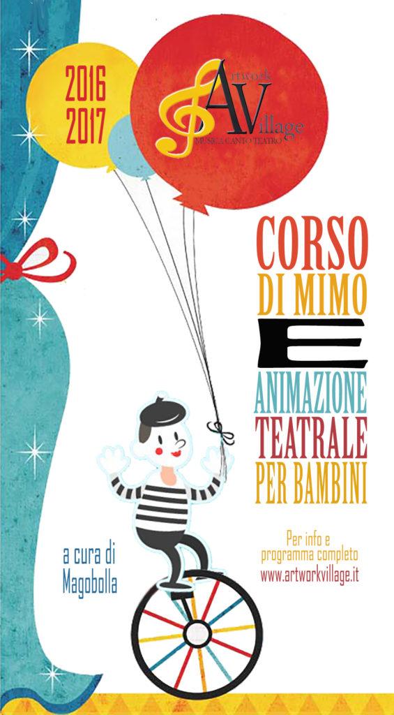 Corso Di Mimo e Animazione Teatrale per Bambini