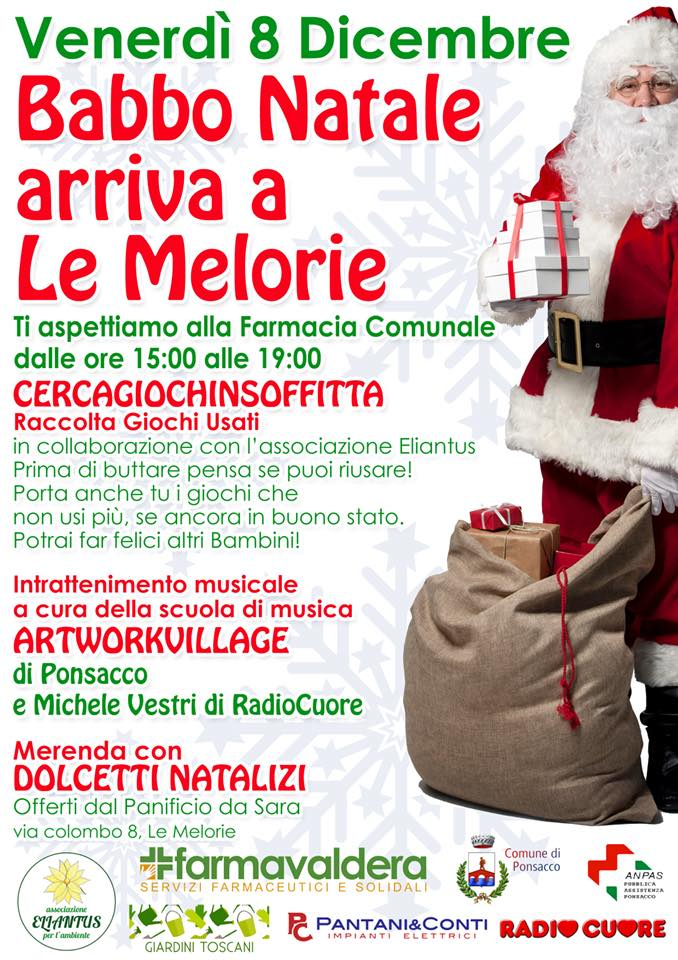 Babbo Natale arriva a Le Melorie!