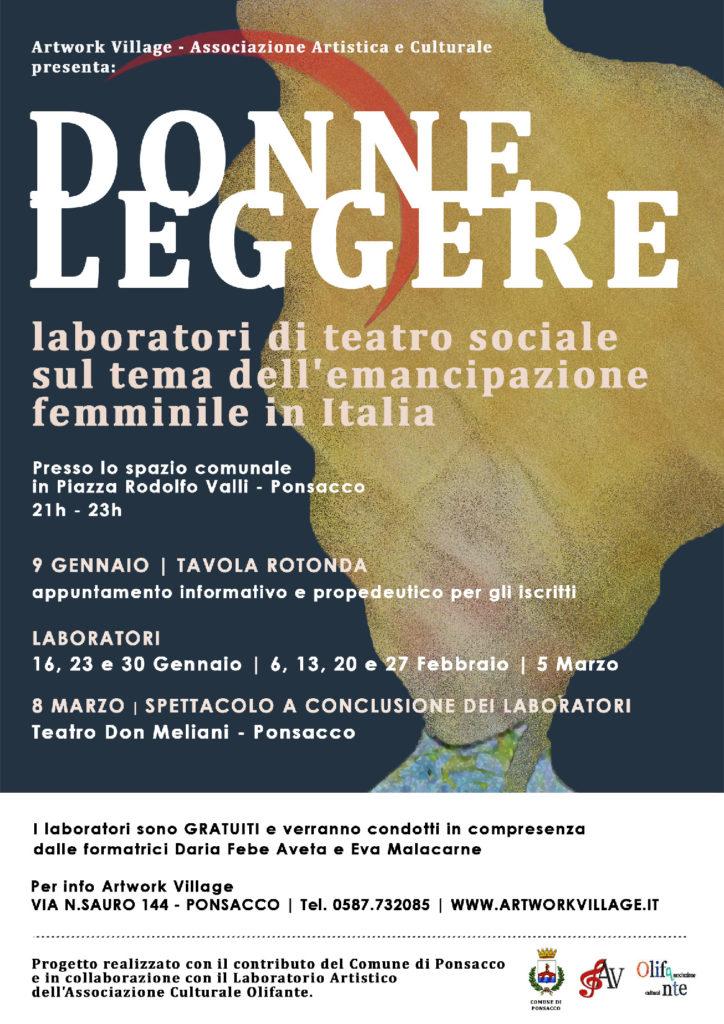 Laboratori di teatro sociale sul tema dell'emancipazione femminile